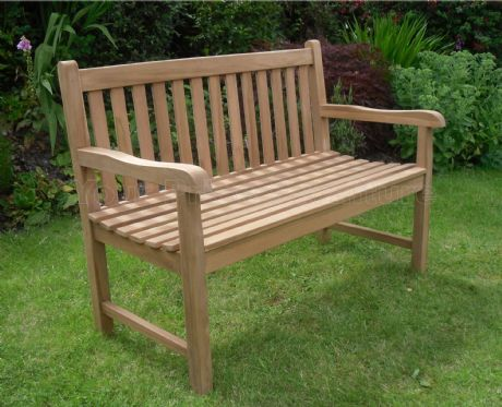 Java Teak 2 Seat Garden Bench 4ft- PRE ORDER ITEM Due 23rd July